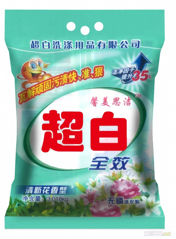 超白无磷加酶洗衣粉